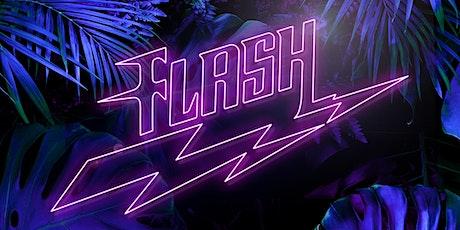 Flash x Homoelectric entradas