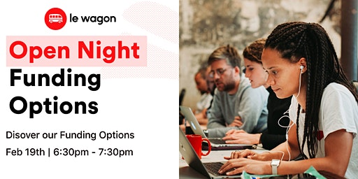 Open Night - Discover Le Wagon Funding Options