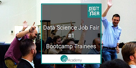 Meet our datascience bootcampers during the Data Science Job Fair 2020 #1 tickets