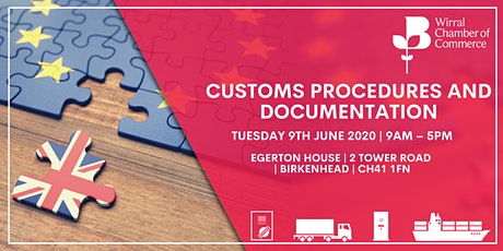 BCC Accredited Customs Procedures and Documentation Training tickets