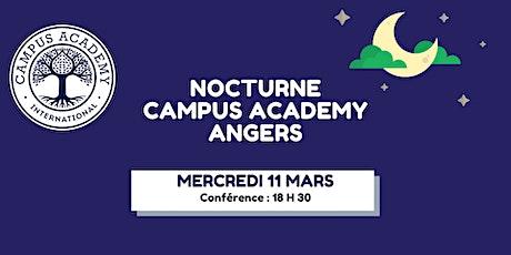 Nocturne Portes Ouvertes CAMPUS ACADEMY ANGERS - Mercredi 11 Mars billets