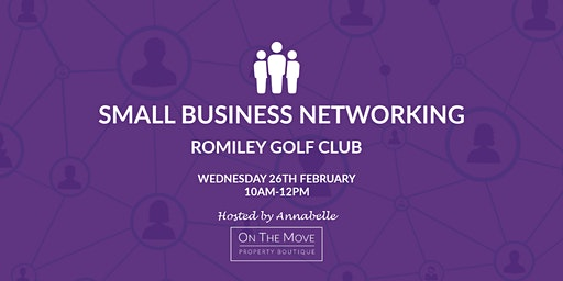 SMALL BUSINESS NETWORKING | ROMILEY