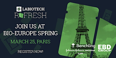 Labiotech Refresh#20 at BIO-Europe Spring tickets