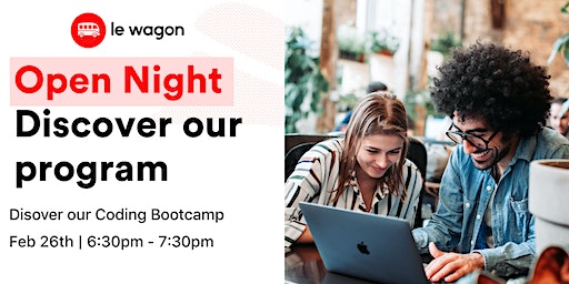 Open Night - Discover Le Wagon Coding Bootcamp