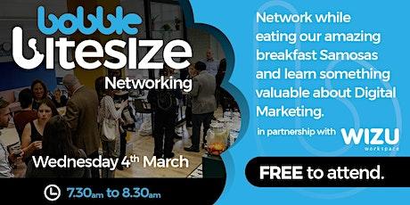 Bobble Bitesize Networking tickets