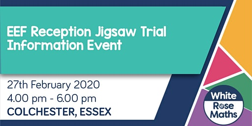 **FREE** EEF Reception Jigsaw Trial - Information Event (Colchester)