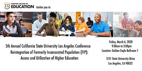 5th Annual Cal State LA Conference: Reintegration of FIP tickets