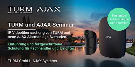 Das TURM und AJAX Alarmanlage Fachseminar 2020 Tickets