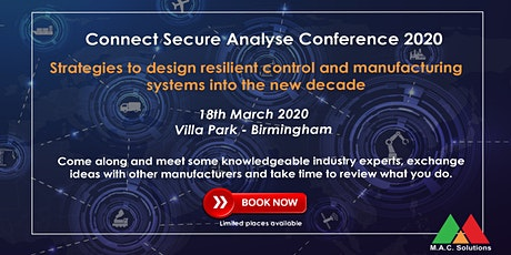 Connect Secure Analyse Conference tickets