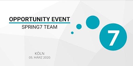 SPRING7 TEAM OPPORTUNITY EVENT KÖLN Tickets