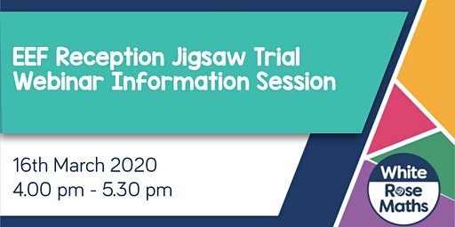 EEF Reception Jigsaw Trial - WEBINAR SESSION  **FREE**