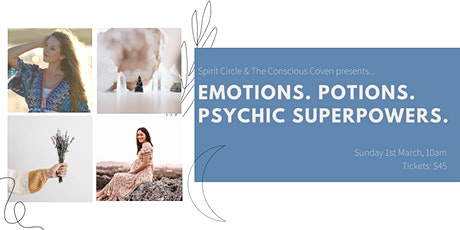 Emotions, Potions & Psychic Superpowers PLAYshop tickets