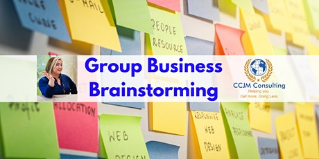 Group Business Brainstorming tickets
