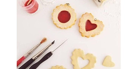 Learn How To Make Heart Shaped Linzer Cookie Necklaces From Polymer Clay (02-23-2020 starts at 3:30 PM) tickets
