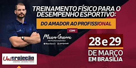 TREINAMENTO FÍSICO PARA O DESEMPENHO ESPORTIVO tickets