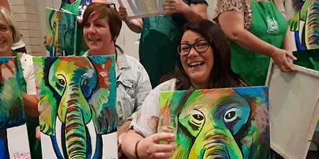 Paint and Sip When in Greece 20 May tickets