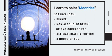 Moselles Springfield - Sip 'n' learn how to paint 'Moonrise'! tickets