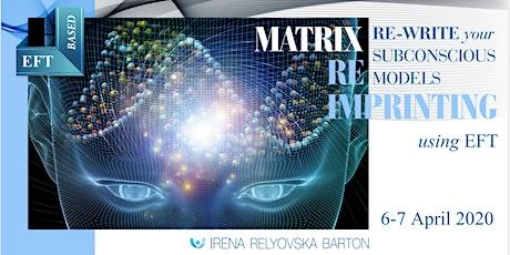 Matrix Reimprinting Certification Training tickets