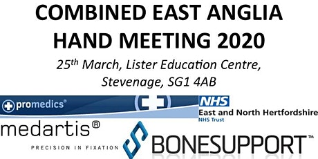Combined East Anglia Hand Meeting, 25th March 2020 tickets