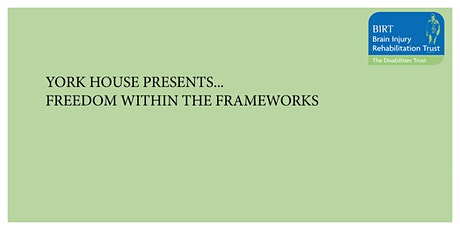 York House Seminar - Freedom within the Frameworks tickets