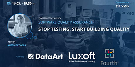 Software QA: Stop Testing, Start Building Quality tickets