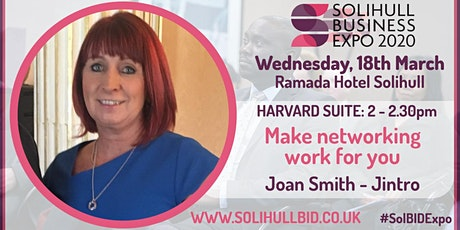 Make networking work for you - #SolBIDExpo tickets