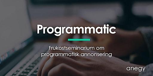 Programmatisk annonsering, vad är det egentligen och är det något för ert bolag?