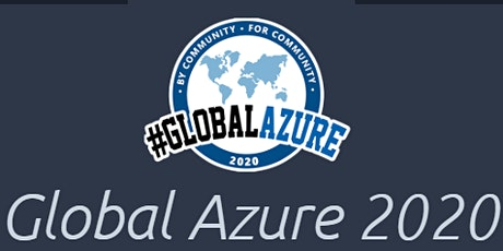 Global Azure 2020 tickets