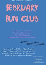 Bellfield February Free Holiday Arts Club for Primary School Children in Stirlingshire tickets