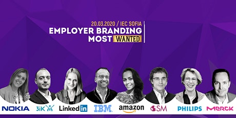 Employer Branding MostWanted conference - Sofia, Bulgaria tickets