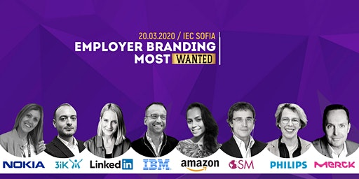 Employer Branding MostWanted conference - Sofia, Bulgaria