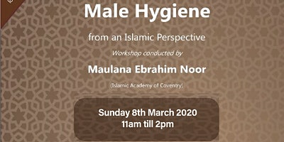 An introduction to Male Hygiene from an islamic prespective
