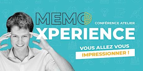 Mémo-X-Périence tickets