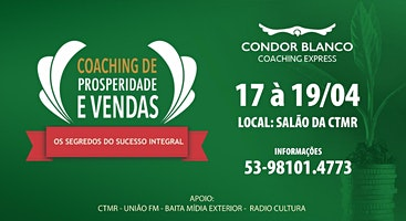 COACHING DE PROSPERIDADE - Pelotas - RS (CECB)