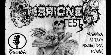 Embriones Fest III: Bullets Of Misery+Mileth+Baikal+Urblack+Killiki entradas