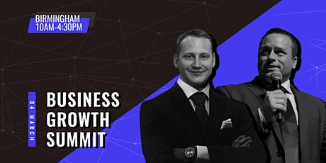 Business Growth Summit - Birmingham tickets