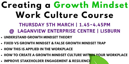Creating a Growth Mindset Work Culture Course