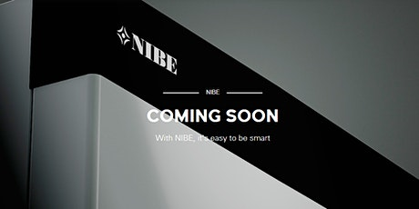NIBE S Series Product Launch tickets