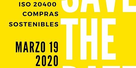 ISO 20400 = COMPRAS SOSTENIBLES entradas