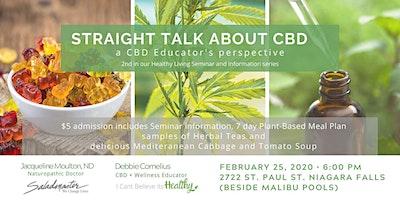 Straight Talk: About CBD