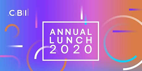 CBI Scotland Annual Lunch tickets