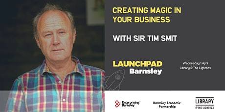 Creating magic in your business. With Sir Tim Smit tickets