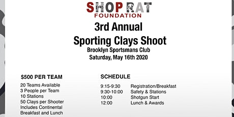 3rd Annual Shop Rat Foundation Sporting Clays Shoot tickets