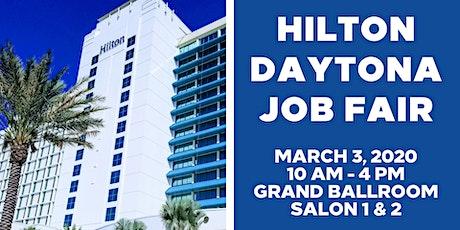 Hilton Daytona Beach Job Fair tickets
