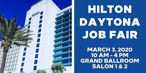 Hilton Daytona Beach Job Fair