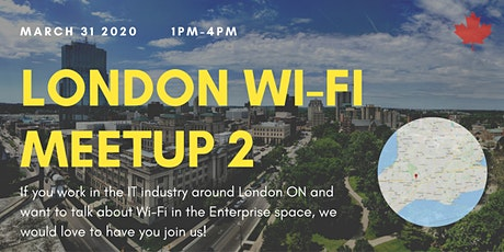 London Wi-Fi Meetup 02 tickets