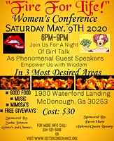Fire for Life Women's Conference: Sex, Love and Money