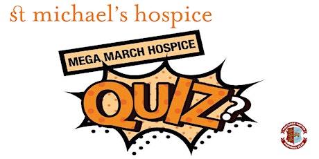 Mega March Hospice Quiz tickets