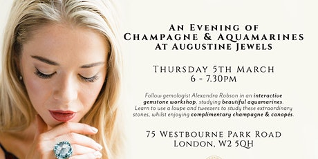 Champagne & Aquamarines Evening tickets