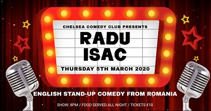 English stand up comedy night from Romania tickets